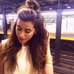 the-half-bun-hairstyle-trend-2015-71